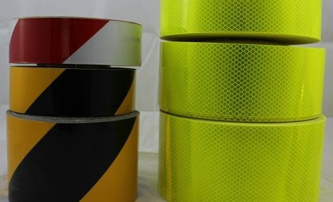 reflective tape yellow black red white fyg fluoro yellow green 3m