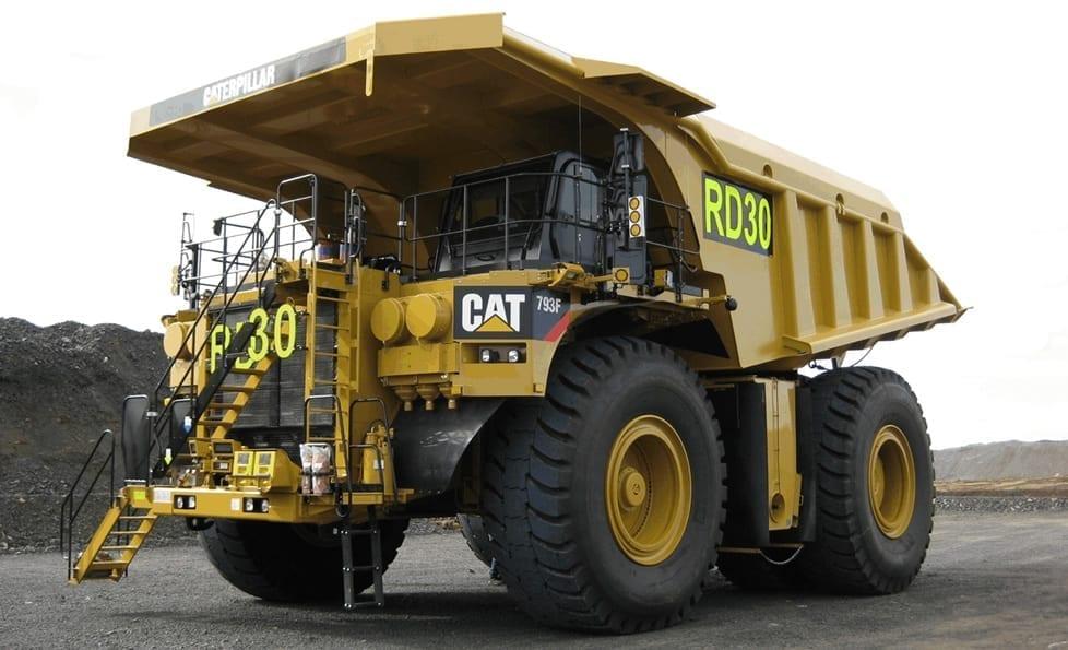 mine-sign-truck