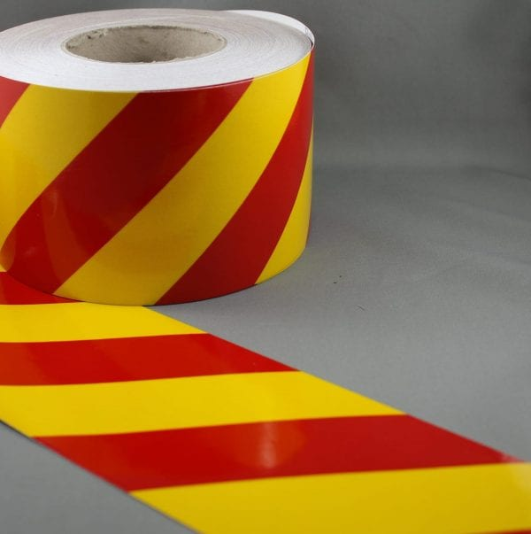 3M-3200-Series-Yellow-Red-Reflective-Tape-100mm