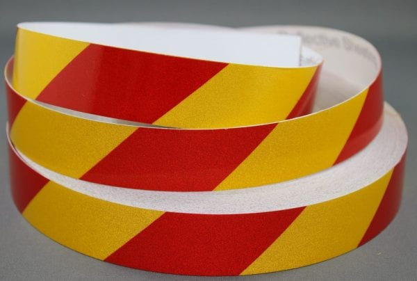 3M-3200-Series-Yellow-Red-Reflective-Tape-25mm