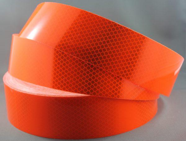 3M-4084-Fluoro-Orange-50mm reflective tape