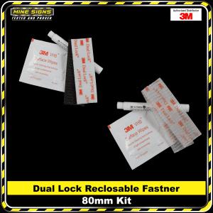 3M Dual Lock Reclosable Fasteners 80mm Kit