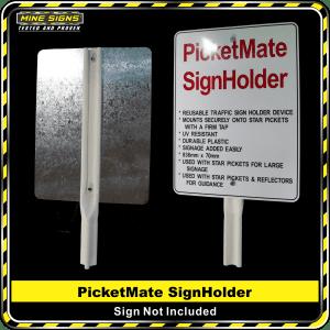 PicketMate SignHolder