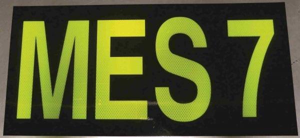 fyg fluoro orange green tape 3m background text black