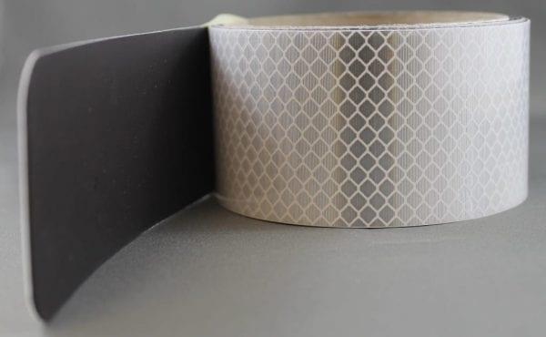 white magnetic black fluoro reflective tape