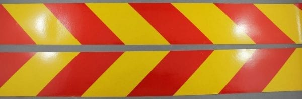 class 2 reflective tape kit 3200 series yellow red kit left right