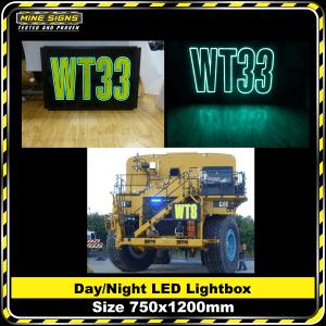 Day/Night LED Light Box 750mm x 1200mm