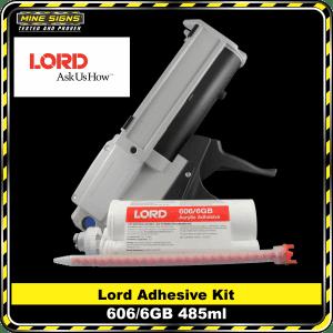 lord adhesive 606/6gb 485ml kit