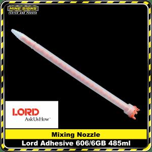 lord adhesive 606/6gb 485ml mixing nozzle