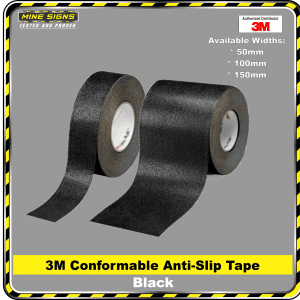 3m conformable black anti slip tape