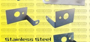 stainless steel cut and bend