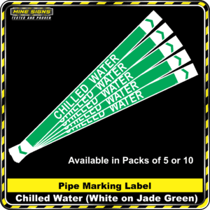MS - Pipe Markers - Chilled Water