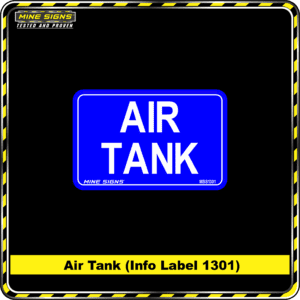 MS - Product Background - Safety Signs - Air Tank 1301